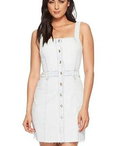 NWT 7 For All Mankind button down overalls dress